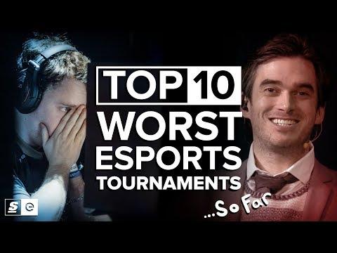 Top 10 Worst Esports Tournaments… So Far